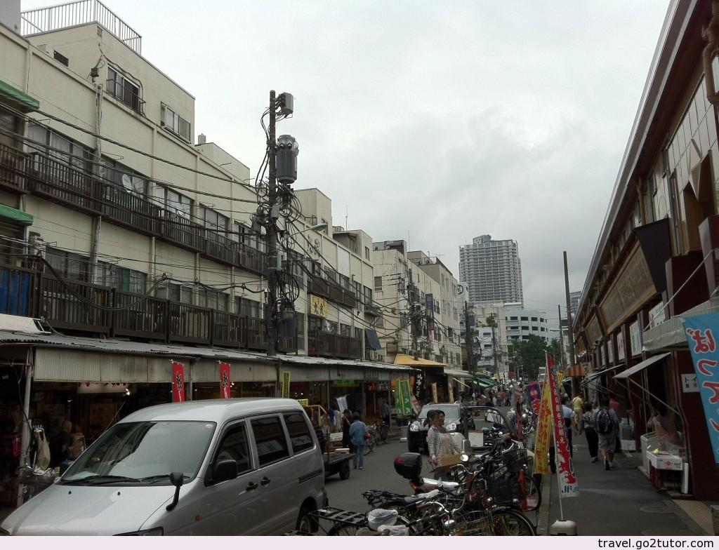 築地市場外貌